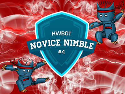 Novice Nimble #4 won by Cowcotland
