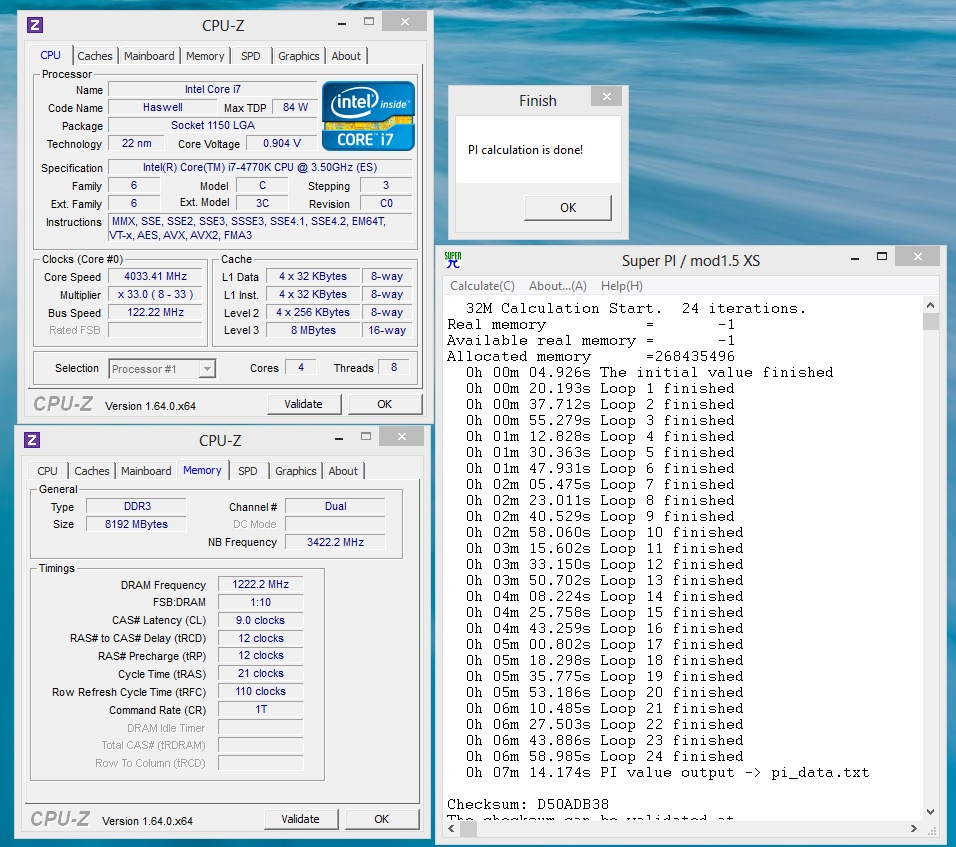 Windows 8 Benchmark Records No Longer Accepted At HWBOT - Benchmark Result Veracity Compromised